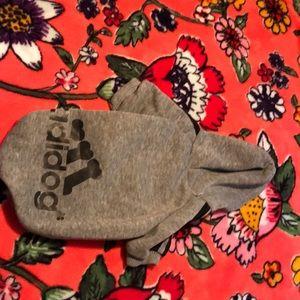 "a ""adidog"" dog hoodie"